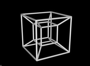 Esta no es más que la sombra 3D que crearía un hipercubo